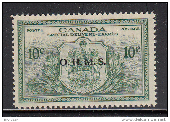 Canada MNH Scott #EO1 O.H.M.S. Overprint On 10c Special Delivery - Officials