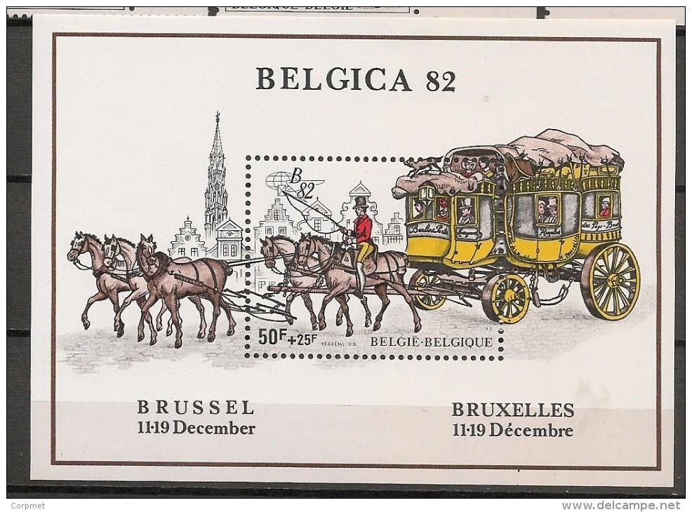 BELGIQUE - Exposition Philatélique Mondiale BELGICA 82 - Yvert  Bloc # 59 - ** MNH - Belgien