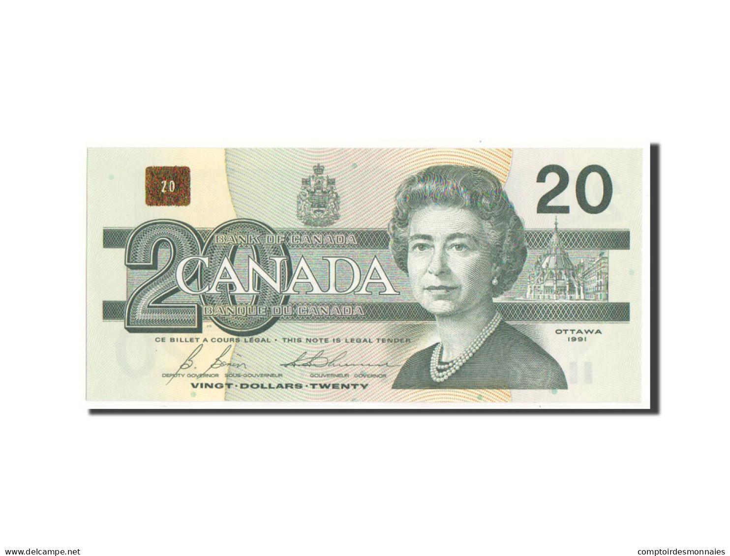 Canada, 20 Dollars 1991, Pick 97b - Canada