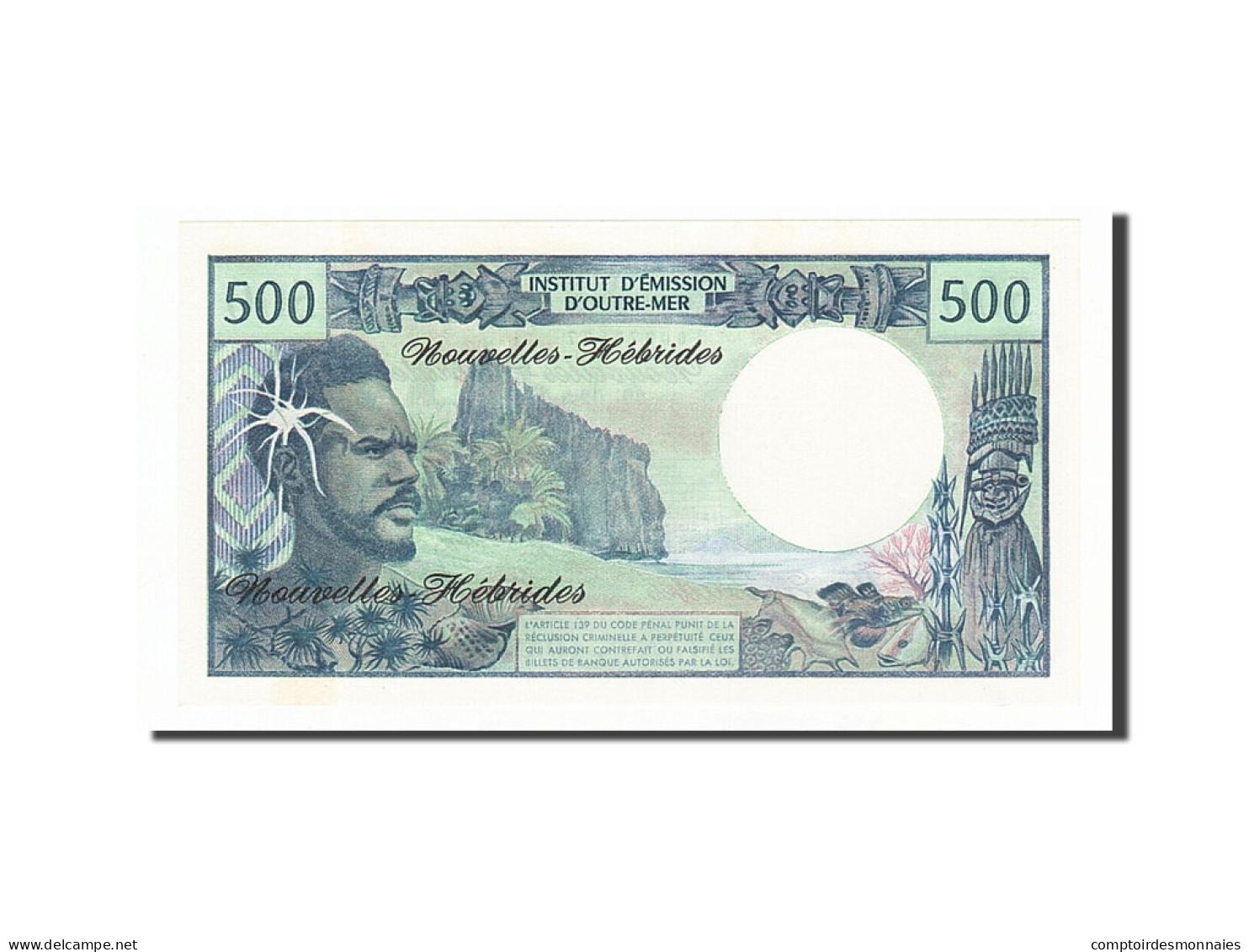 Nouvelles-Hébrides, 500 Francs Type 1970 - Bankbiljetten