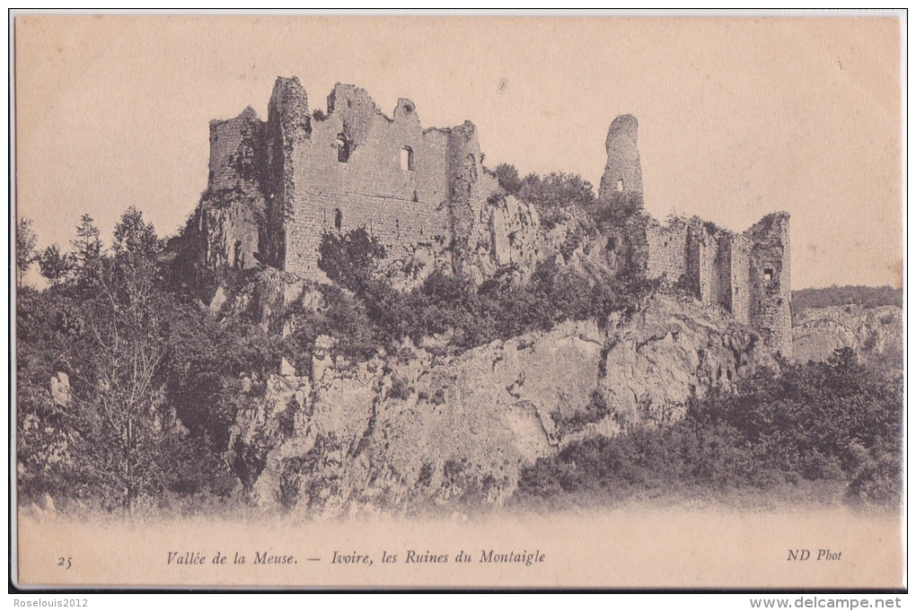 MONTAIGLE : Ruines - Onhaye