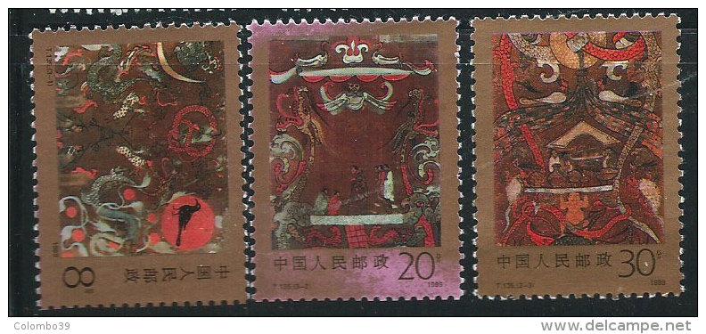 Cina Nuovo** 1988 - Mi.2227/29 - 1949 - ... Repubblica Popolare