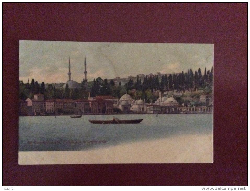 COSTANTINOPOLI - COSTANTINOPOLI  - LA CORN D'OR. - NON VIAGGIATA - Turchia
