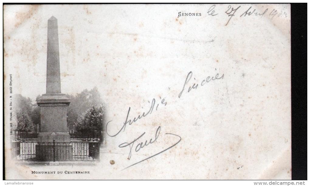 88, SENONES, MONUMENT DU CENTENAIRE - Senones