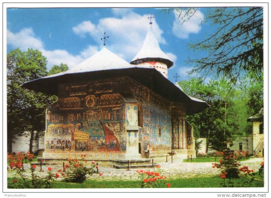 ROMANIA/ROUMANIE - THE SACRED MONASTERY OF VORONET - Romania