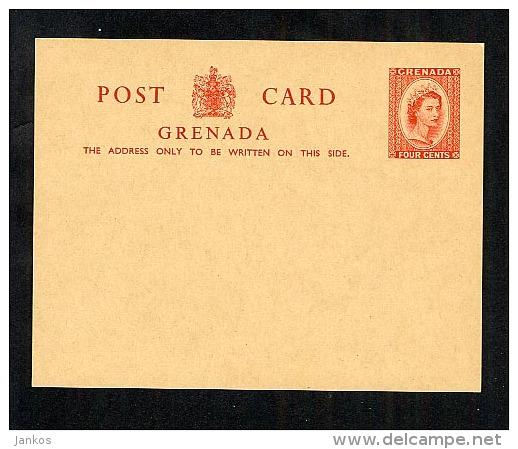 Grenada Postal Stationery Postcard Unused   (Y274) - Grenada (...-1974)