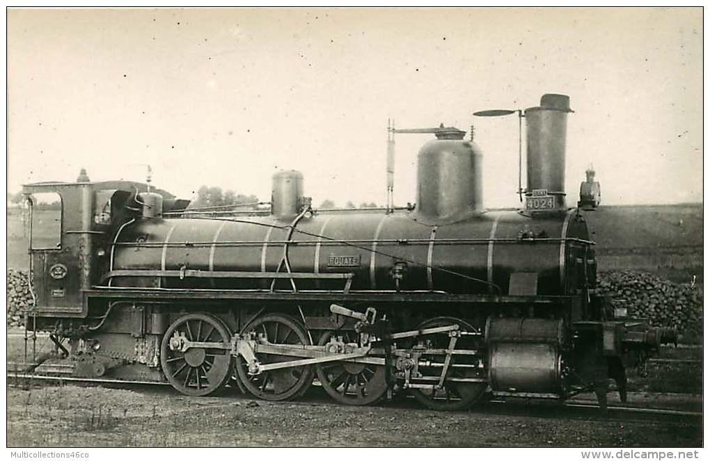 PHOTO - 250715 - 44 BOUAYE ETAT 4024 - Locomotive Gare Chemin De Fer - Bouaye