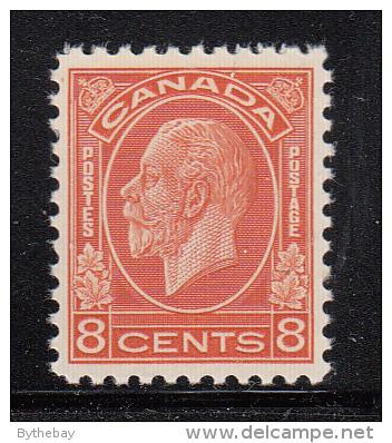 Canada MNH Scott #200 8c George V Medallion Issue - Neufs