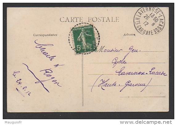 DF / 17 CHARENTE MARITIME / SAINT-DIZANT -DU-GUA / LE CHÂTEAU ROMANEAU / CIRCULÉE EN 1912 - Other Municipalities