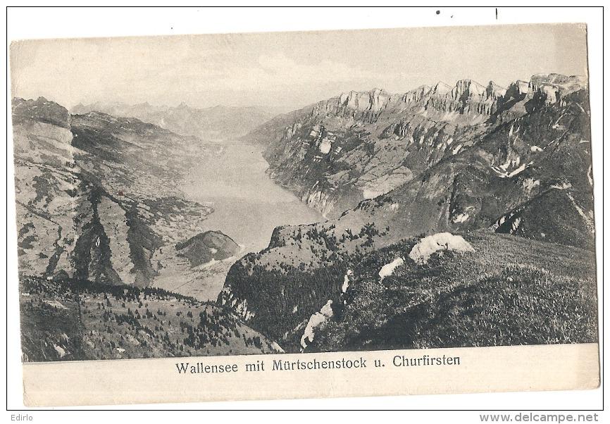 GR - Wallensee Mit Murtschenstock     Neuve/unused - GR Grisons