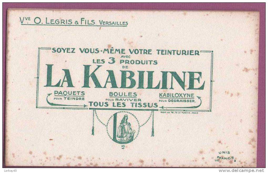 1 Buvard  La Kabiline - K
