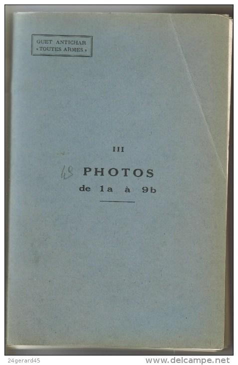 """LIVRE DE FORMATION MILITAIRE - GUET ANTICHAR """"TOUTES ARMES"""" 49 PHOTOS - Livres, BD, Revues"""