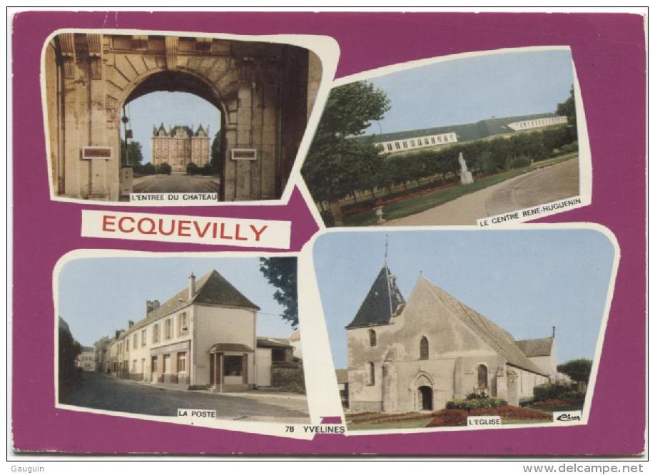 CPM - ECQUEVILLY - MULTIVUES - Edition Combier / N°22 - France