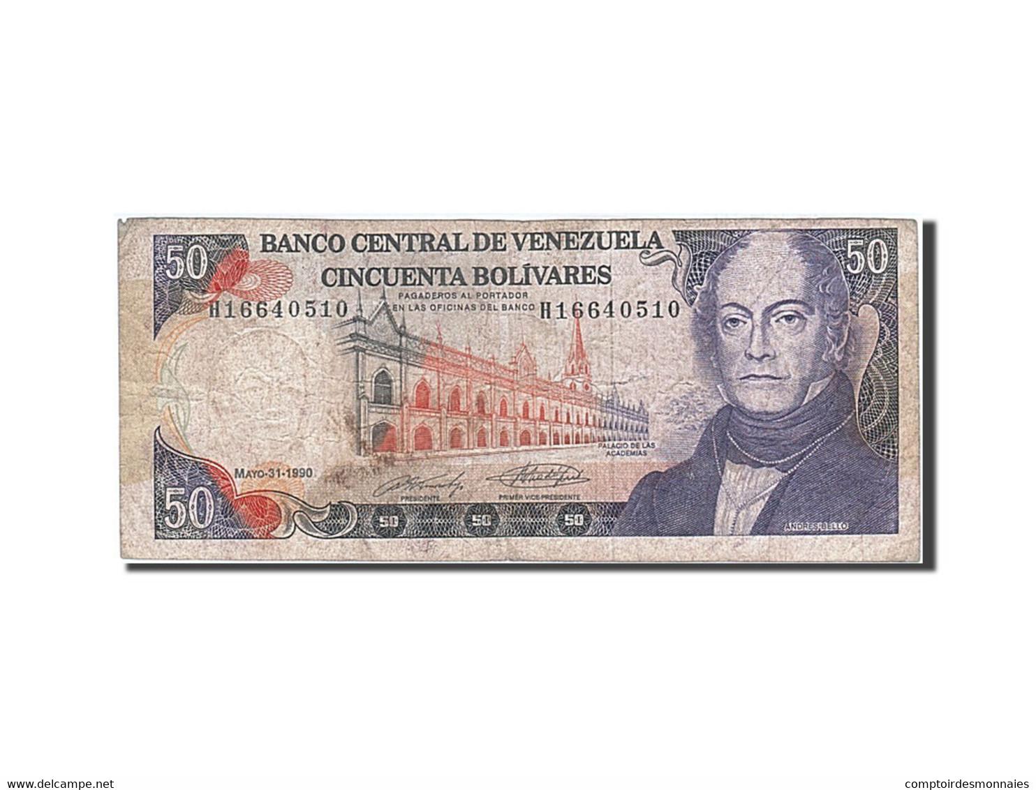 [#258962] Venezuela, 50 Bolivares, Type Andres Bello - Venezuela