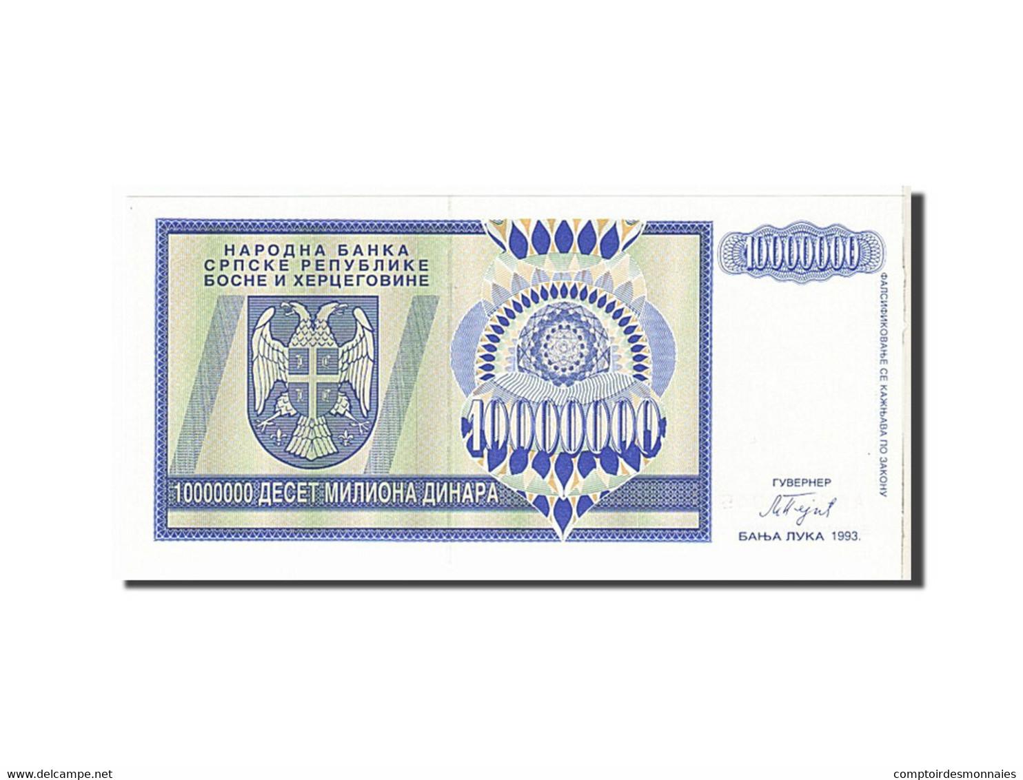[#111590] Croatie, 10 Millions Dinara Type 1993 - Croatie