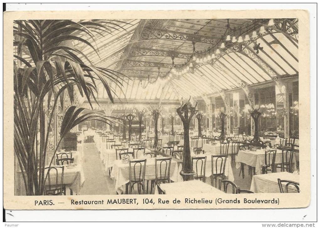 Paris   104  Rue Richelieu  Restaurant Mauber - Frankreich