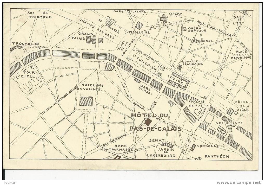 Paris   59 Rue Saint Pére    FASCICULE  Publicitaire - Frankrijk