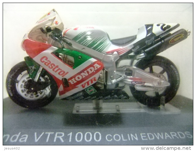 MOTO HONDA VTR 1000 COLIN EDWARDS 2000 CON SU CAJA ORIGINAL - Motos