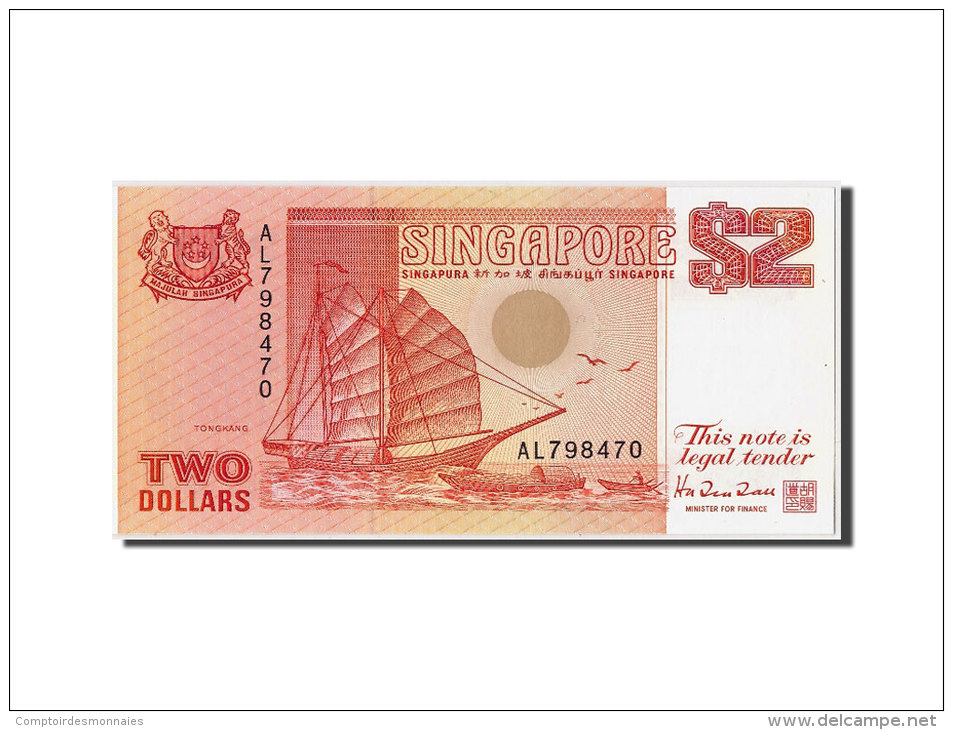 [#307242] Singapour, 2 Dollars Type 1990 - Singapore