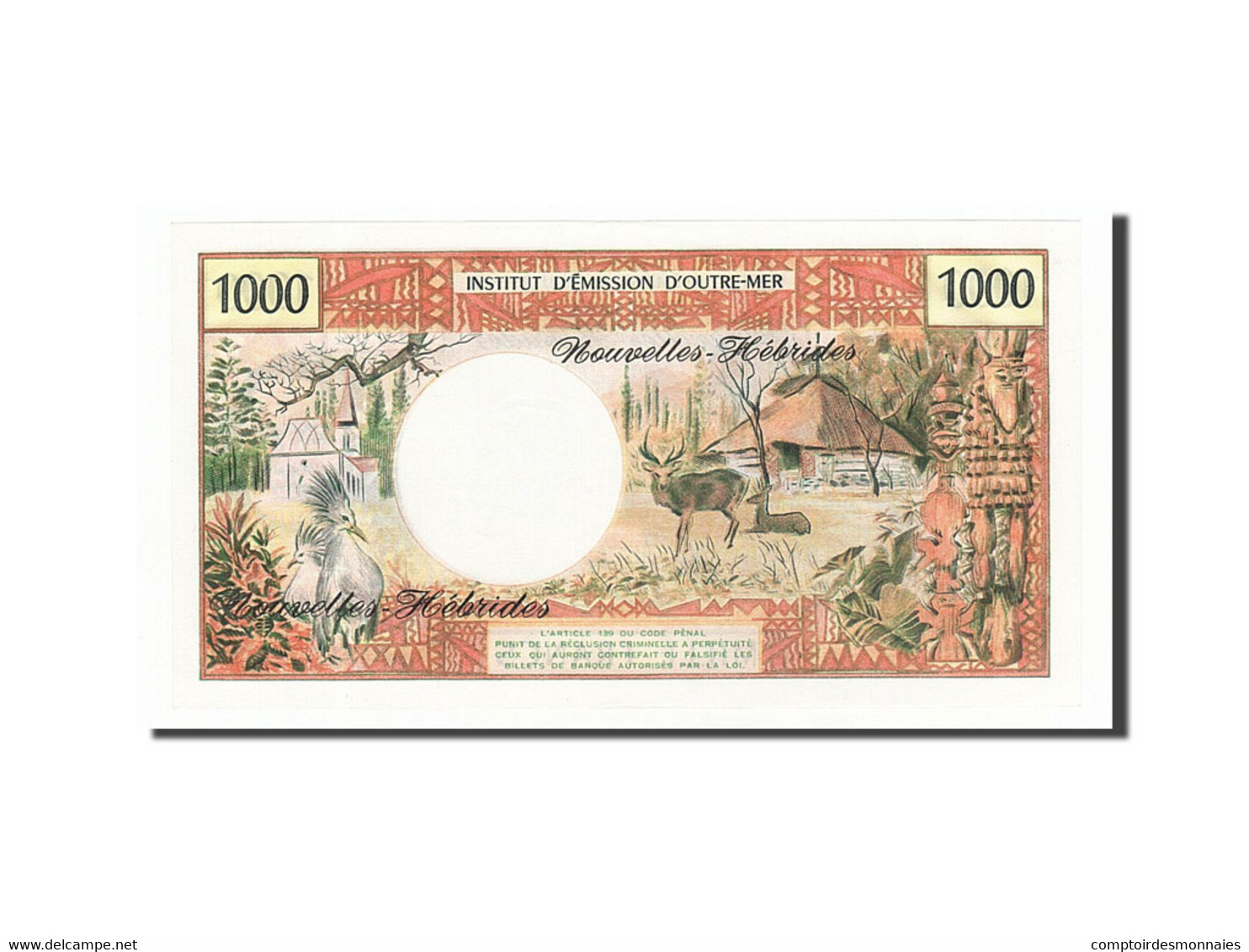 [#158413] Nouvelles-Hébrides, 1000 Francs Type 1970 - Other - Oceania