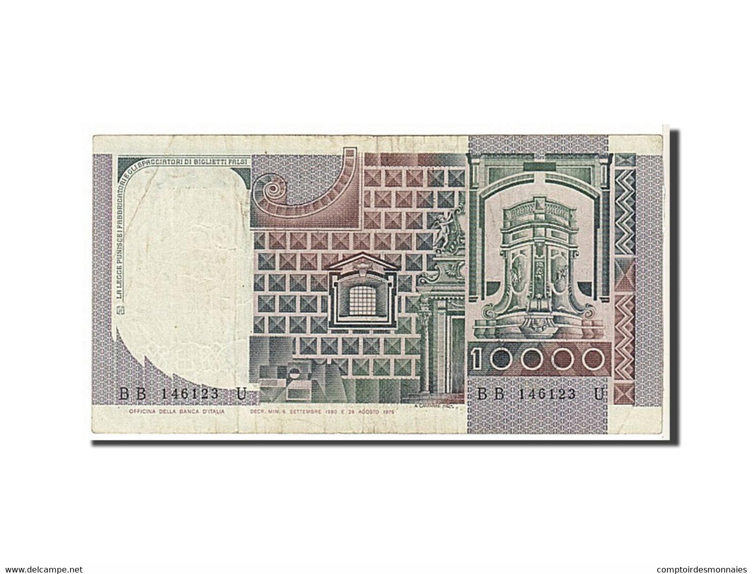 [#111573] Italie, 10 000 Lire Type 1980 - 10000 Lire