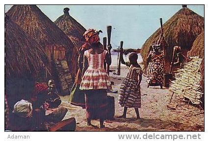 Afrique Noire      6    Pileuses - Non Classés