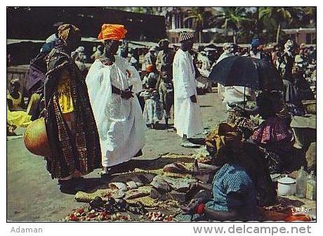 Afrique Noire      H5    Scène De Marché - Cartes Postales