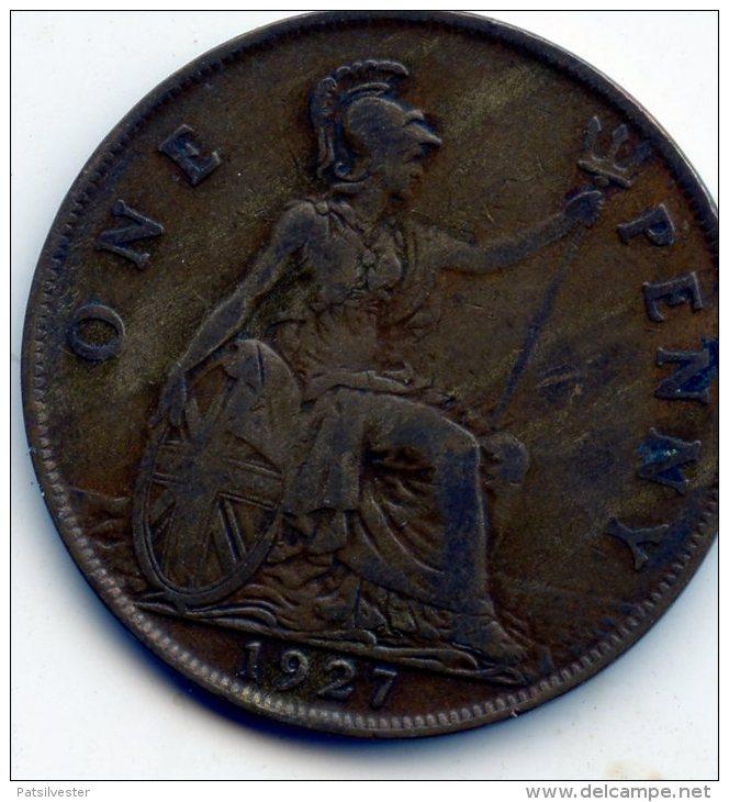 Great Britain 1 Penny 1927 - 1902-1971: Postviktorianische Münzen