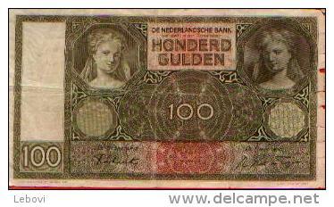 PAYS-BAS - 100 Gulden - 22.05.1942 - [2] 1815-… : Koninkrijk Der Verenigde Nederlanden