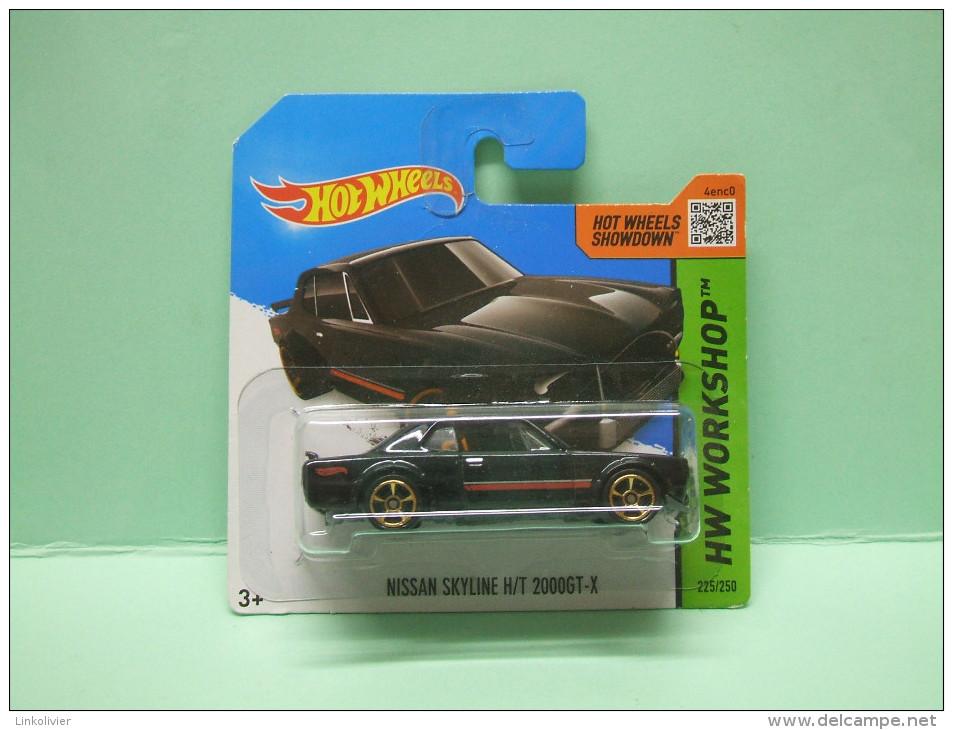 NISSAN SKYLINE H/T 2000 GT-X - HW Workshop - Then And Now 2014 - HOTWHEELS Hot Wheels Mattel 1/64 EU Blister - HotWheels