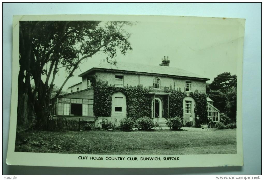 Cliff House Country Club, Dunwich, Suffolk - Non Classés