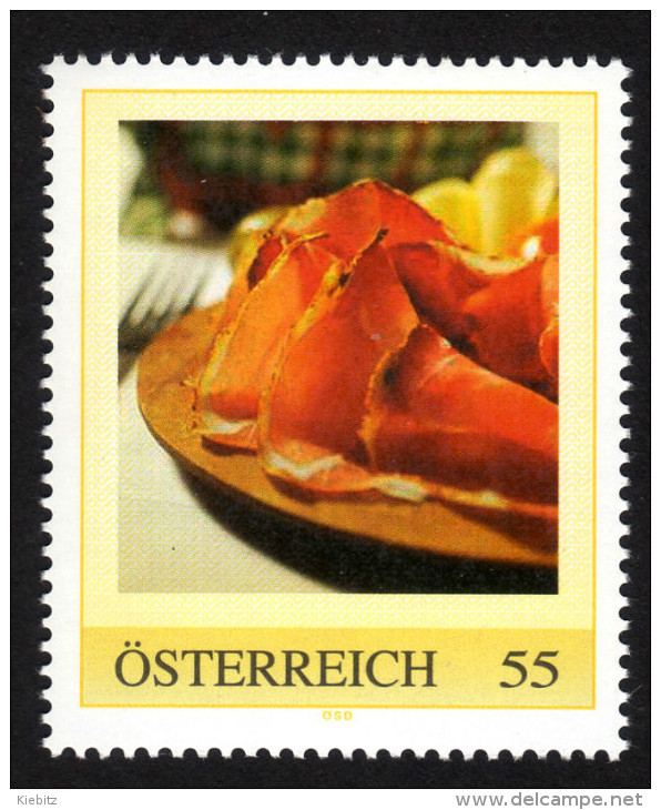 ÖSTERREICH 2009 ** Speck - PM Personalized Stamp MNH - Ernährung