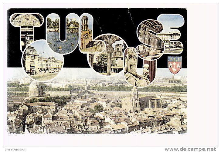 Cpsm ,  Toulouse....    ,      Voyagé   1973 - Toulouse
