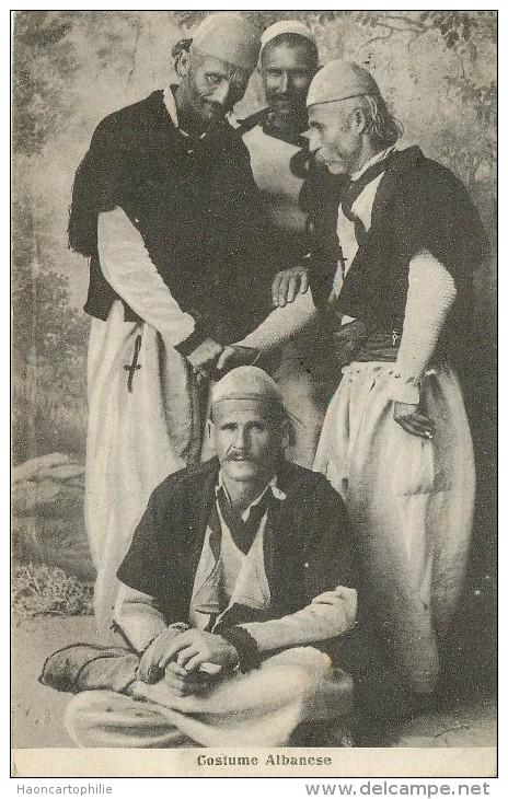 Costume Albanese - Albanie