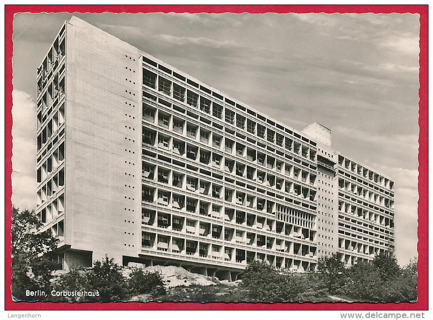 Foto-AK BERLIN-Charlottenburg 'Corbusier-Haus' ~ 1961 - Charlottenburg