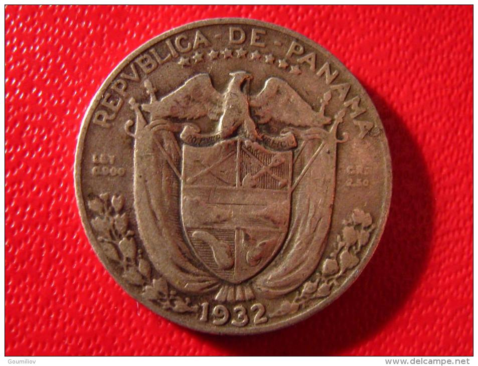 Panama - Decimo 1/10 De Balboa 1932 3958 - Panama