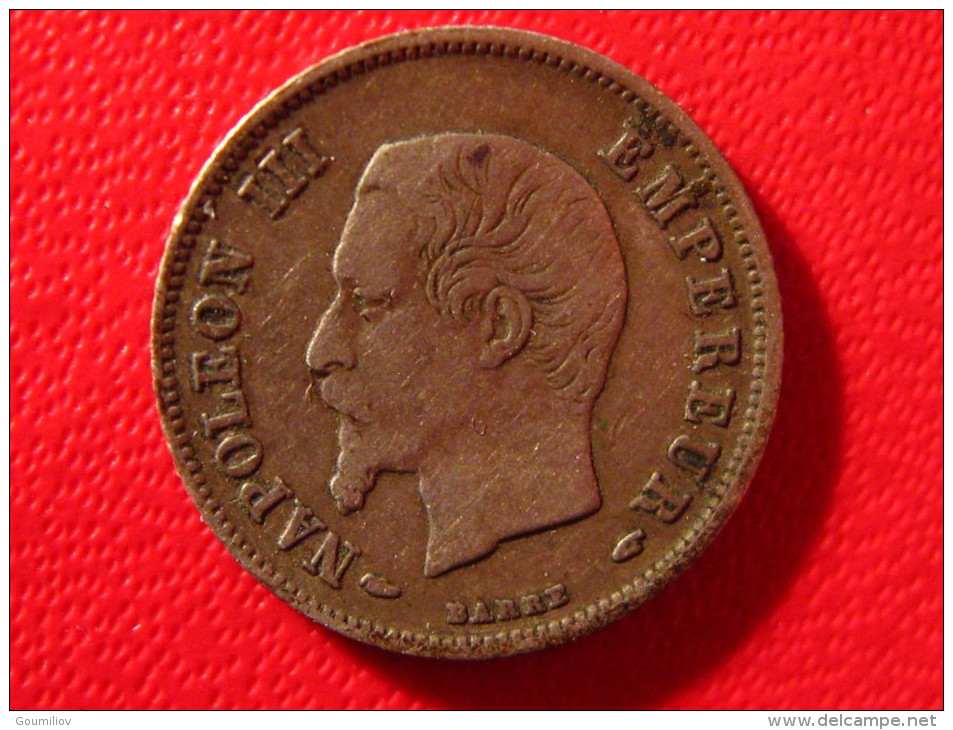 20 Centimes Napoléon III 1854 A 4079 - Francia