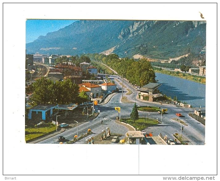 TRENTO,panorama-NV-BENZINA AGIP-SHELL-!!!!!!!!!!!!!! - Trento