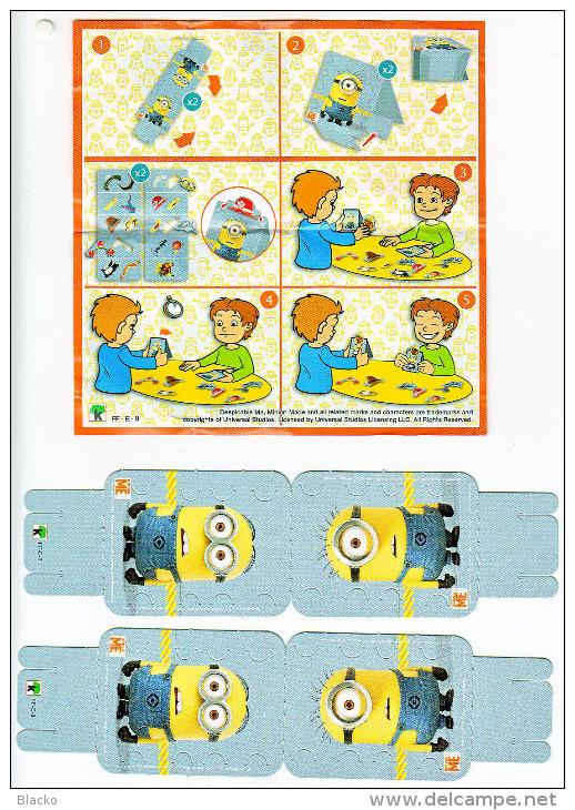 Kinder Maxi - Hungary - Minions - FF-E-8 Despicable Me - Ü-Ei