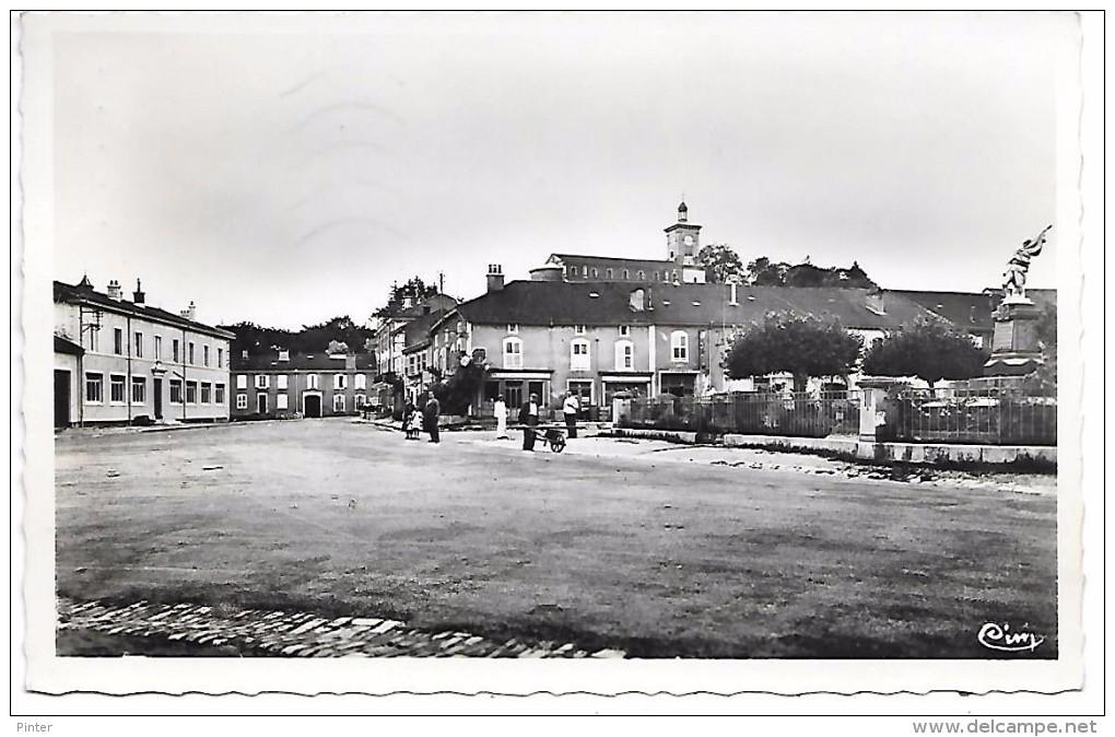CHATENOIS - Place Du Monument - Ecole Des Filles - Chatenois