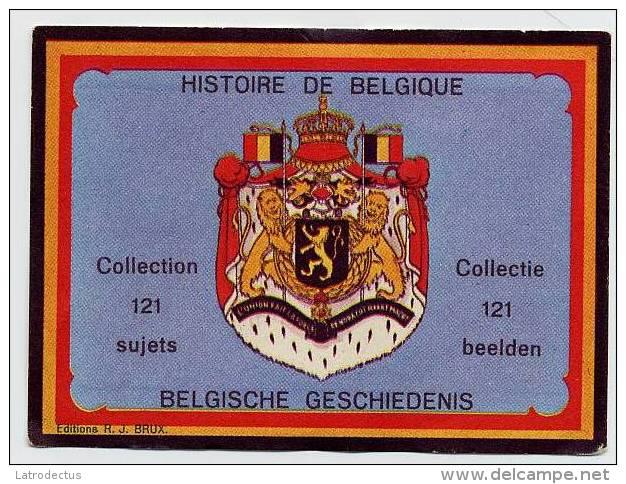 Belgische Geschiedenis - Histoire De Belgique - Front - Chromos