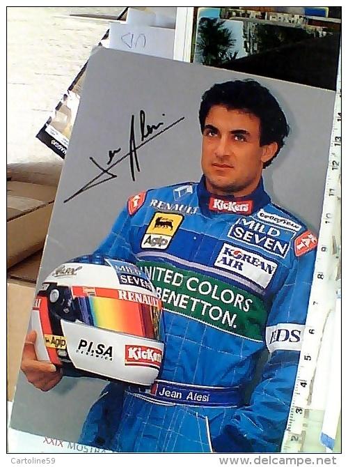 PILOTA -JEAN ALESI-BENETTON AUTO CAR CORSA SPORT F1   N1997 EX2815 - Grand Prix / F1