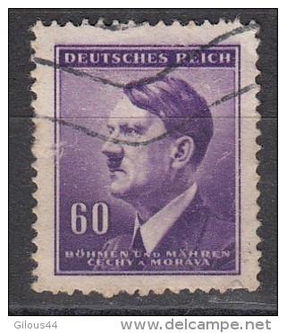 Effigie D'Hitler  Bohmen Und Marhen 60 P - Bohême & Moravie