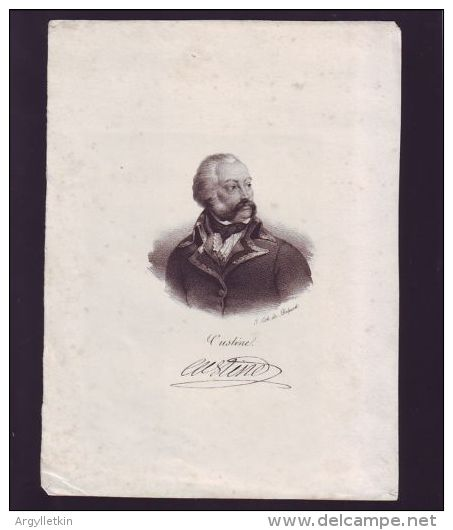 FRANCE 19TH CENTURY PRINTS - Old Paper