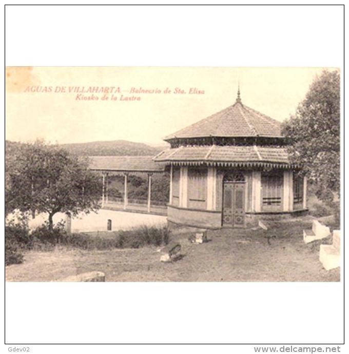 CDBTP5547-LFT6541.Tarjeta Postal DE CORDOBA.Edificios.balneario De Santa Elisa .AGUAS DE VILLAHARTA En Cordoba - Córdoba