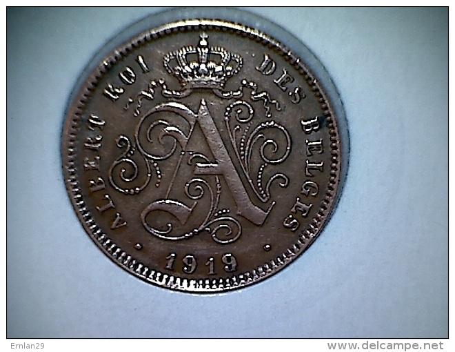 Belgique 2  Centimes 1919 FR - 1909-1934: Albert I
