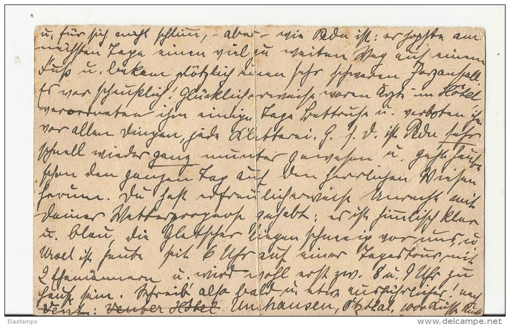 == AT  GS Karte Antwort 1922  Bug - Enteros Postales