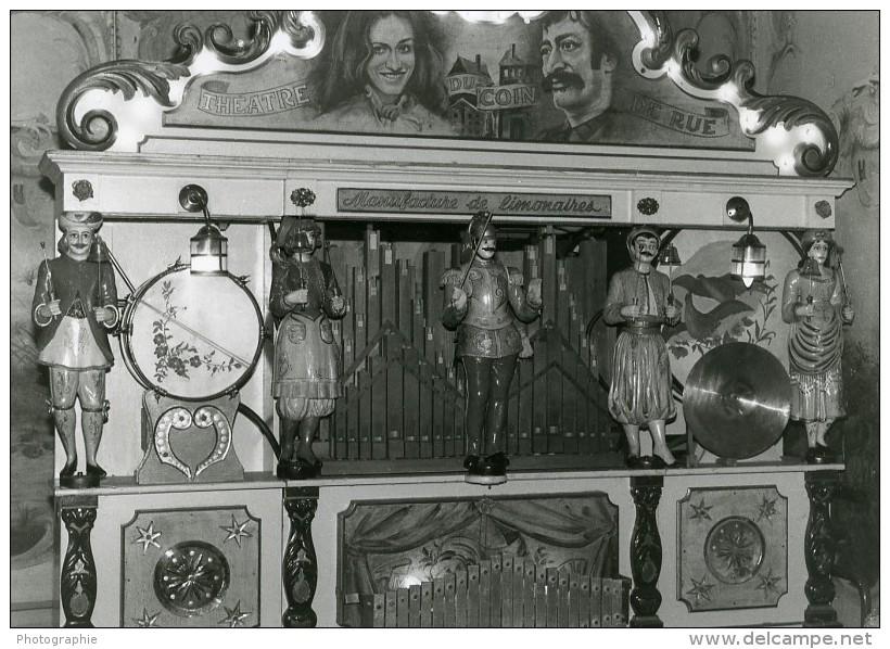 France Theatre Forain Orgue De Manege Manufacture De Limonaires Ancienne Photo 1960 - Photographs