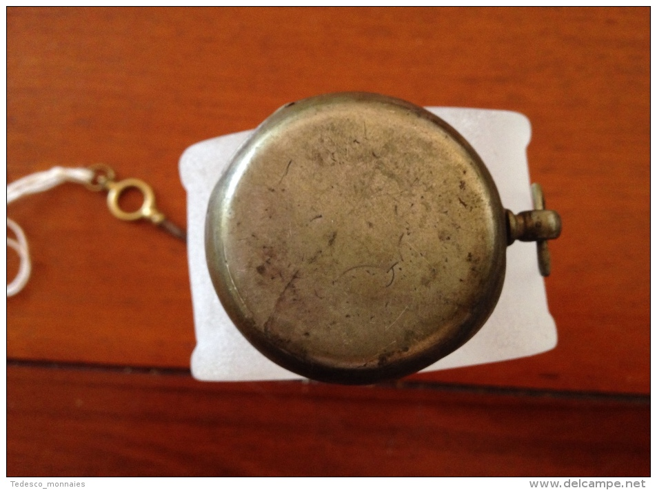 Montre Gousset Argent - Horloge: Zakhorloge