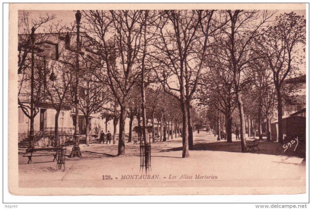 Montauban - Les Allée Mortarieu - Montauban